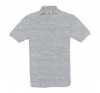 POLO BC SAFRAN HEATHER GREY S-3XL