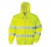 SWEAT-SHIRT B305 JAUNE ZIPPE T S à 3XL