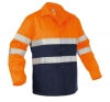 VESTE HV LINS ORANGE/MARINE T XS à 3XL