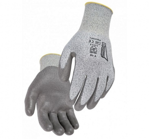 GANTS COUPURE 5 END. PU GRIS 6 à 11